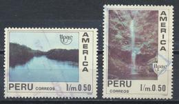 °°° PERU - Y&T N°958/59 - 1991 °°° - Perù