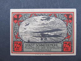 BANKNOTE Schneidemühl 75 Pfg. ///  D*35003 - 1918-1933: Weimarer Republik