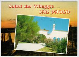 CAVALLINO  (VE)   VILLAGGIO  SAN  PAOLO         (VIAGGIATA) - Italia