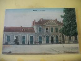 L11 4869 CPA COLORISEE 1909 - 71 AUTUN. LA GARE. EDIT. SEBILLE - ANIMATION - Autun