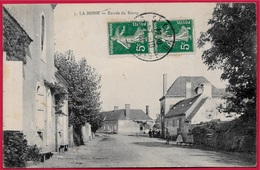 CPA 72 LA BOSSE Sarthe - Entrée Du Bourg ° L. Vivien Bonnetable - Autres Communes