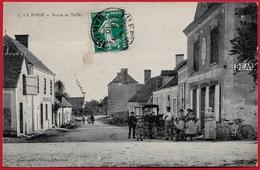 CPA 72 LA BOSSE Sarthe - Route De Tuffé (Commerce Devanture) ° L. Vivien Bonnetable - Autres Communes