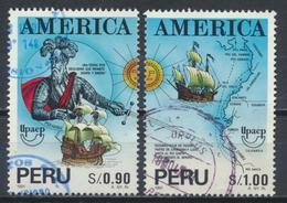 °°° PERU - Y&T N°991/92 - 1993 °°° - Perù
