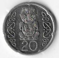 New Zealand 2008 20 Cents [C671/2D] - Nouvelle-Zélande