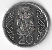 New Zealand 2008 20 Cents [C671/2D] - New Zealand