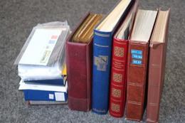 DEUTSCHLAND Reste-Posten In Alben, Briefe, FDC, Etc. ......225 Bilder ....187 (F) - Stamps