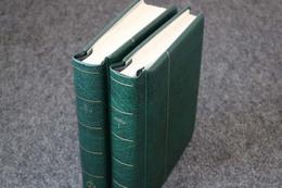SCHWEIZ - Sammlung Gestempelt In 2 LEUCHTTURM Vordruckalben Bis 2004 ......210 Bilder ....189 (G) - Briefmarken
