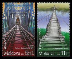Moldova 2018 Mih. 1031/32 Europa-Cept. Bridges MNH ** - Moldavie