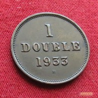 Guernsey 1 Double 1933 H KM# 11 Guernesey - Guernesey