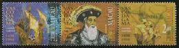 Macau Macao Chine 1998 - Vasco Da Gama Caminho Maritimos 1498 - Anniversary Of Vasco Da Gama's Voyage India MNH/Neuf - Macau