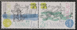 Macau Macao Chine 1999 - Mares E Oceanos Herança Maritima - Stamp Exhibition Oceans And Maritime Heritage - MNH/Neuf - Macau