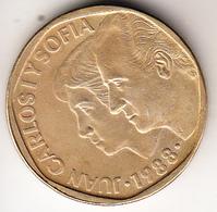 ESPAÑA 1988.  500 PESETAS. JUANCARLOS Y SOFIA  EBC . CN4392 - [ 5] 1949-… : Royaume
