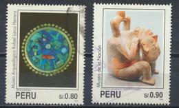 °°° PERU - Y&T N°1033/34 - 1995 °°° - Perù