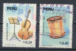 °°° PERU - Y&T N°1035/36 - 1995 °°° - Perù