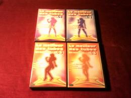LOT DE 4 DVD - Les Meilleur Des Tubes En Karaoke  Exclusif Animation 3D - DVD