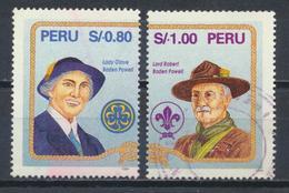 °°° PERU - Y&T N°1063/64 - 1995 °°° - Perù