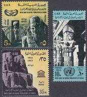 EGITTO - 1965 - Serie Completa Nuova MNH : Yvert 663/665  Per Complessivi 3 Valori. - Unused Stamps