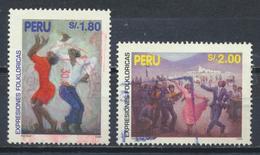 °°° PERU - Y&T N°1065/66 - 1995 °°° - Perù