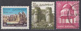 EGITTO - 1972 - Lotto Di 3 Valori Usati O Senza Gomma: Yvert 877, 878 E 880. - Egitto