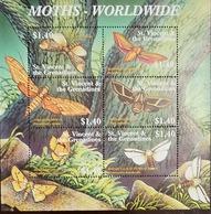L) 2004 ST VINCENT & GRENADINES, BUTTERFLIES, NATURE, TREE, 1.40C, MNH - St.Vincent & Grenadines