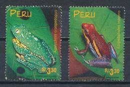 °°° PERU - Y&T N°1149/51 - 1998 °°° - Perù