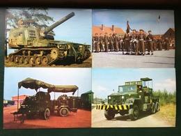 Belgisch Leger-Armée Belge/-lot 23 Kaarten Waarvan 14 Met Rijdend Materieel/23 Cp Parmi 14 Avec Du Matériel Roulant - Matériel