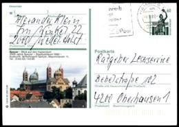77608) BRD - P 139 - T6/93 - OO Gestempelt 2000 - 6720 Speyer, Kaiserdom, Kirche - Geïllustreerde Postkaarten - Gebruikt