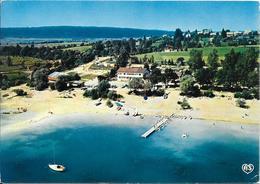 """MARIGNY - Au Bord Du Lac De Chalain """"La Pergola"""" Camping-Caravaning Plage-Rotisserie-Crèperie Tél (82) 25.71.81 - Autres Communes"""