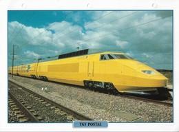 Fiche Editions Atlas Trains TGV Postal - Chemin De Fer