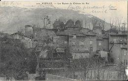 Vizille - Les Ruines Du Château Du Roi - Carte Chasayn N° 202 - Vizille