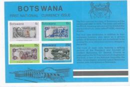 Botswana 1976 First National Currency S/S MNH - Botswana (1966-...)