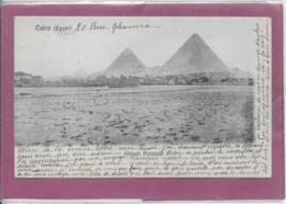CAIRO .- Ghizch Pyramid - Cairo