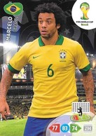 CARTE PANINI ADRENALYN COUPE DU MONDE FIFA BRESIL 2014 BRESIL MARCELO - Trading Cards