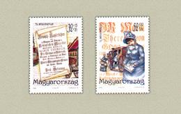 Hungary 1999. Stampday Nice Set MNH (**) Michel: 4553-4554 - Neufs