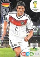 CARTE PANINI ADRENALYN COUPE DU MONDE FIFA BRESIL 2014 ALLEMAGNE MARIO GOMEZ - Trading Cards