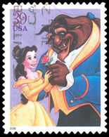 Etats-Unis / United States (Scott No.4027 - The Art Of Disney: Romance) (o) - Verenigde Staten