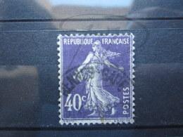 """VEND TIMBRE DE FRANCE N° 236 , CACHET """" RENNES-GARE """" !!! - 1906-38 Semeuse Camée"""