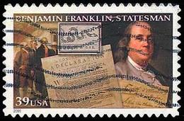 Etats-Unis / United States (Scott No.4021 - Benjamin Franklin) (o) - Verenigde Staten