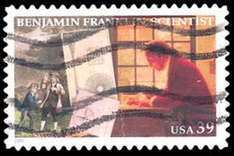 Etats-Unis / United States (Scott No.4022 - Benjamin Franklin) (o) - Verenigde Staten