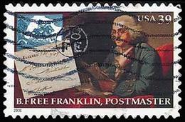 Etats-Unis / United States (Scott No.4024 - Benjamin Franklin) (o) - Verenigde Staten