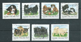 FINLANDE  Yvert  N° 1403-1404-1405-1407-1408-1409-1410  Oblitérés - Finlande