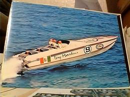 MOTOSCAFO OFF SHORE MARTINI RACING  DRY  N°9  N1990 GX5431 Biglietto - Barche