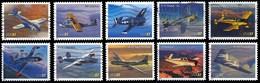Etats-Unis / United States (Scott No.3916-25 - Evolution De L'Aviation / Advance In Aviation) (o) Set - Verenigde Staten