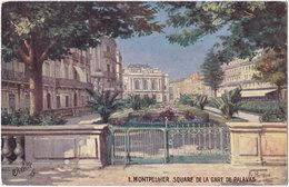 34. MONTPELLIER. Square De La Gare De Palavas. 1 - Montpellier