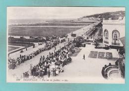 Old Post Card Of Vue Sur Les Jardins,Deauville, Normandy, France,R63. - Deauville