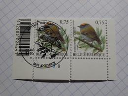 Roitelet  Triple Bandeau. Obl 02/04/2005 + 1 Neuf** - 1985-.. Birds (Buzin)