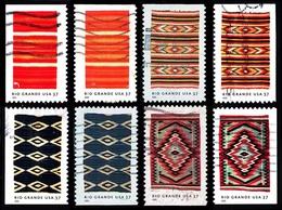 Etats-Unis / United States (Scott No.3926-29 - Couverte Du / Rio Grande / Blankets) (o) (P2-P3 - Verenigde Staten