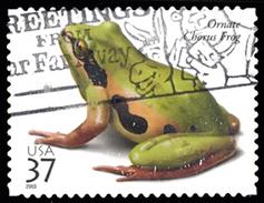 Etats-Unis / United States (Scott No.3817 - Reptiles And Amphibians) (o) - Verenigde Staten