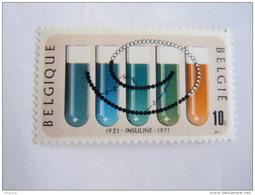 België Belgique 1971 Verjaardag Ontdekking Insuline Anniversaire Découverte De L'insuline 1595 MNH ** - Belgique