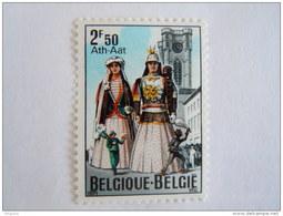 België Belgique 1971 Reuzen Géants D'Ath Et Tour De L'église Kerktoren 1593 MNH ** - Belgique